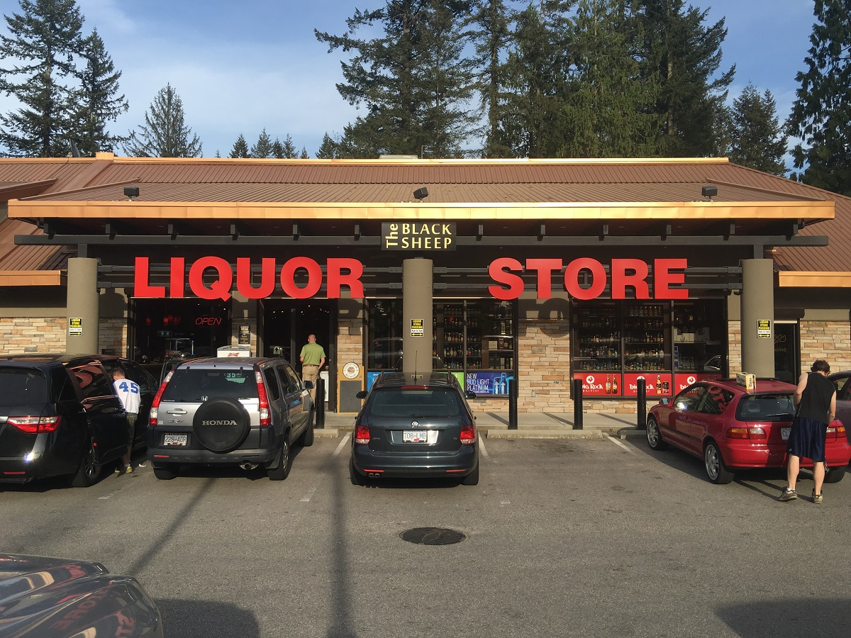 Liquor Store Outside